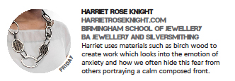 Post about Harriet Rose Knight at In:Site