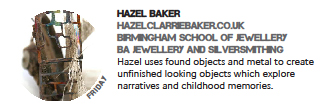 Post about Hazel Baker at In:Site