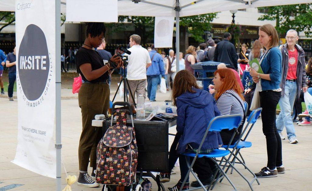 Film Maker, Myah Jeffers at In:Site 2016