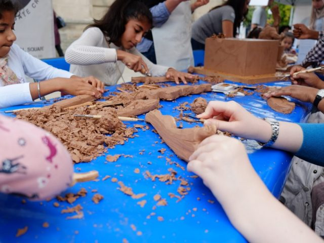 In:Site 2017 clay modelling