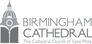 the logo of the Birmingham Cathedral